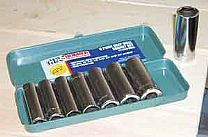 1/2 inch Deep Socket Set